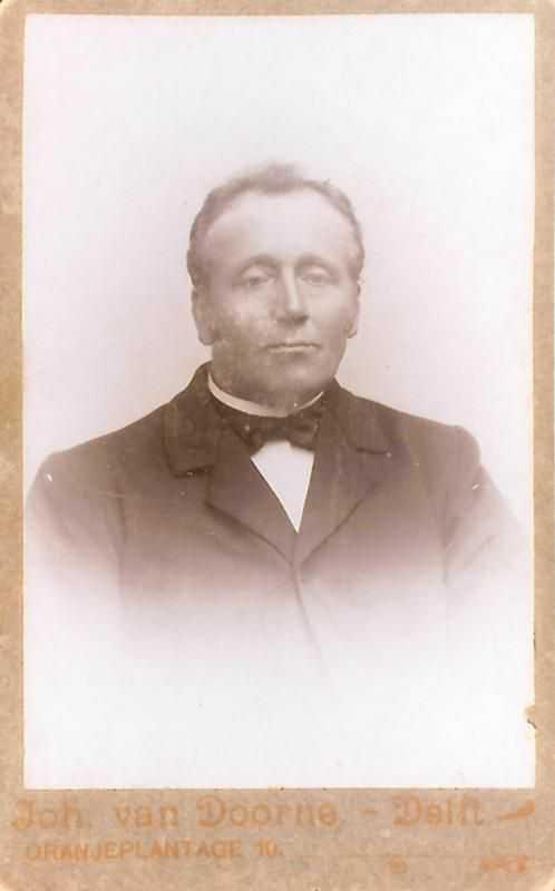Arie Westmaas geb 14-11-1852 ov 29-10-1925
